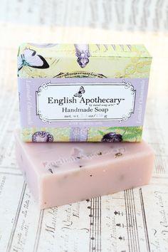Lavender Chamomile Bath Soap with organic Oils - Vegan by Erin. $8.95, via Etsy.