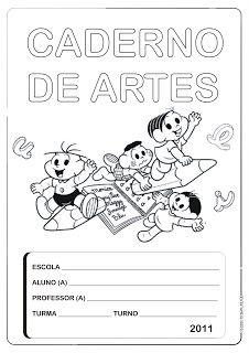 A Importancia Do Plano De Aula Capa De Caderno Caderno De Artes