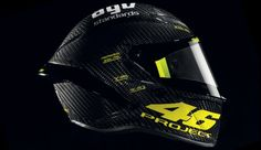 AGV Pista GP Kask http://www.motosikletaksesuarlari.com/AGV-Kask-Project-46-Pista-GP-Rossi-Limited-Edition-Karbon-Kask_8188.html