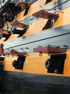 HMS Victory Gun Ports
