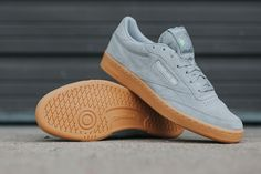 "Reebok Club C 85 Indoor ""Baseball Grey"" - EU Kicks: Sneaker Magazine"
