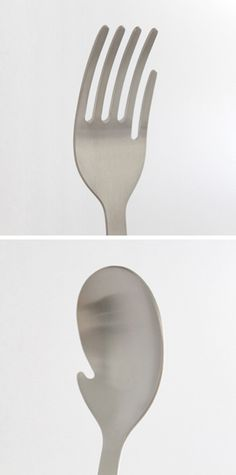 Hand Fork & Hand Spoon by Mitsubai Tokyo.