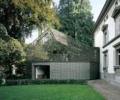 via subtilitas:    Gigon & Guyer - Extension to a historical villa, Kastanienbaum 2004.