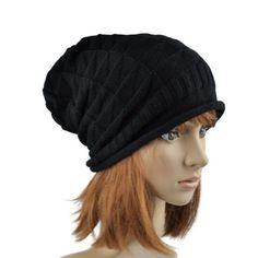 New Fashion Unisex Wool Winter Crochet Knit Beanie Skullcap Hat
