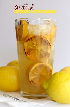 Let's grill up a cocktail tonight with this Grilled Spiked Lemonade! www.mantitlement.com
