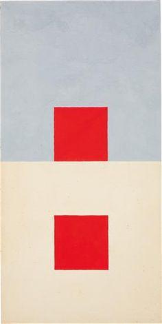 Willys de Castro - Untitled, 1958, gouache on paper.