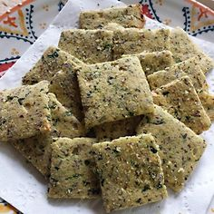 """Killer Crackers I """"I try to eat low carb and somewhat healthy, plus I love to cook, so this is a keeper!"""""""