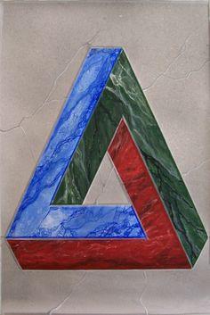 """Intarsio in finto marmo """"Fantasia"""" (70*100cm)"""