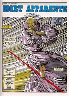 Barry Windsor-Smith Final Art for Uncanny X-Men, Vol. 1 # 198, Page 01,  Scripted by Chris Claremont.