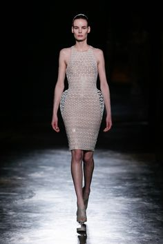 Iris van Herpen Fall 2016 Ready-to-Wear Fashion Show http://www.theclosetfeminist.ca/  http://www.vogue.com/fashion-shows/fall-2016-ready-to-wear/iris-van-herpen/slideshow/collection#2