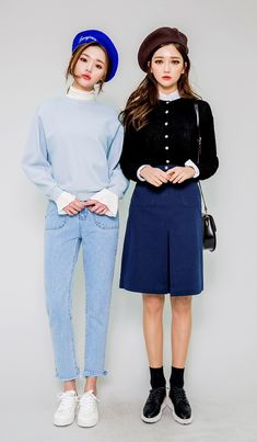 #koreanfashion #twinlook pinterest// sallysein