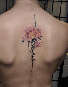 Back tattoo by Cody Dean @ Central Tattoo Studio in Philadelphia, PA : tattoos