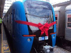 trem chinês entra em operação no Rio