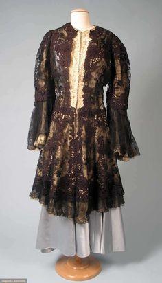 Black Lace Coat, Paris, 1890s, Augusta Auctions