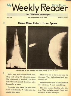 Dreams of Space - Books and Ephemera: My Weekly Reader (1960-1966)
