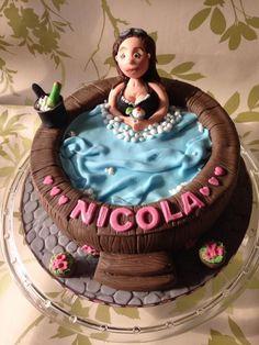 Nicola's jacuzzi - Cake by CandyCakes