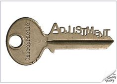 One of the keys to health - the chiropractic adjustment