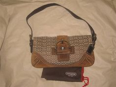 Coach Signature C Mini C Soho Buckle Brown Purse Bag #Coach #TotesShoppers