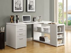 corner desk home office furniture home office desk furniture Wall units can be of a number of different types. corner desk home office furniture are the absolute. Home Office Desks, Home Office Furniture, Office Decor, Furniture Decor, Furniture Showroom, Corner Furniture, Furniture Sets, White Furniture, Office Ideas