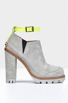 Lug Sole Winter Shoes