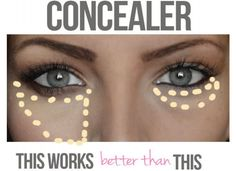 You can thank concealer for covering up those dreaded blemishes, dark circles and mask the appearance of under eye bags. You can also use it in different techniques to highlight and jazz up your best facial features. Some may not realize the way you apply concealer can aid tremendously in your overall look. There are many different ways and makeup hacks that can make the process easier and more effective.