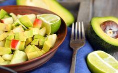 Elmalı Avokado Salatası Tarifi