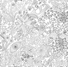 Coloriage Anti Stress Colouring Pages