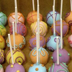 1 Dozen Easter Pastel Cakepops- EclecticEats on Etsy http://bit.ly/EclecticEats