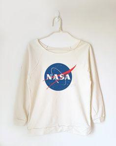 Nasa shirt fashion shirt tumblr shirt graphic shirt by MoodCatz