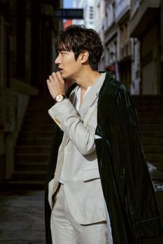 Lee Min-ho is suited up and in disguise for Legend of the Blue Sea » Dramabeans Korean drama recaps