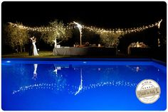 Castello di Montignano in Umbria: a nice, peaceful place for both day and night weddings. Ph Purewhite Photography http://www.brideinitaly.com/2013/10/purewhite-umbria.html #italy #wedding #pool
