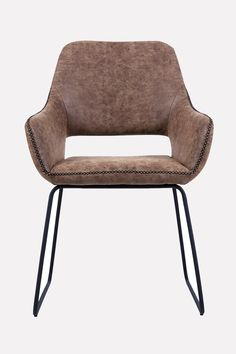 Dining chair in a very elegant vintage design.