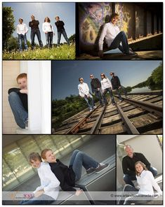 A modern family portrait session with teenagers |   Choosing a great location (or multiple great locations) is so important for a successful portrait session.  We love creating unique images and shapes within them with leading lines, shooting from different angles and the right locations to suit the family involved.  Getting great expressions is all about connecting with people and as you can imagine, we had a ball during this session! Photography by Art and Soul | www.artandsoulcanada.com
