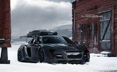 My next snow-mobile: Audi R8