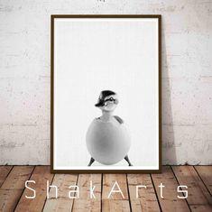 Duck Nursery Print Nursery Wall Art Set Animal Farm by ShakArts