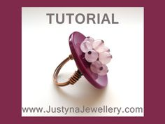 blooming button ring