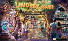 #underland #goddard group #lotteworld #korea #themedentertainment