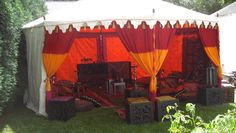 18ft Round India Tent
