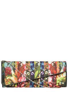 Dorothy Perkins - Floral envelope clutch bag