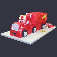 Cars Truck Cake