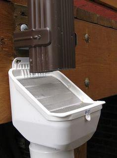 LeafEater Advanced Rain Head downspout filter - for rain barrels