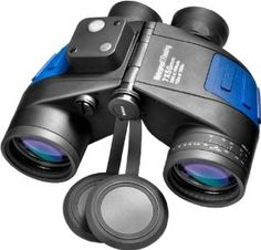 BARSKA Deep Sea 7x50 Waterproof Floating Binocular w/ Internal Rangefinder & Compass by Barska. $129.45. Features a rugged rubber armor covering that provides a non-slip and secure grip, designed specially for nautical use. Fully multi-coated optics delivers luminous and high contrast images with BAK-4 prisms for increased clarity. O-ring sealed for complete waterproof protection and Dry nitrogen-purged and sealed to prevent fogging and moisture damage in all weather condi...