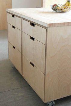 Кухни из фанеры. Plywood kitchen. Мебель из OSB.
