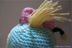 Here's the 1st Free Crochet Pattern of the Year! Lil' Scrump measures approximately 23cm tall x 14cm wide. This pattern is for Lil' Scrump wearing a Bee Costume. However, you can also crochet her into...