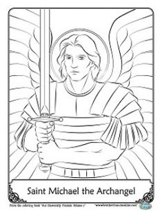 Free Downloadable Coloring Page From Happy Saints The 3