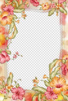 Moldura Flores . | montafoto.com