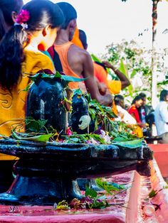 Offerings to Lord Shiva