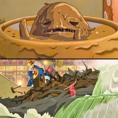 The River Spirit, Spirited Away