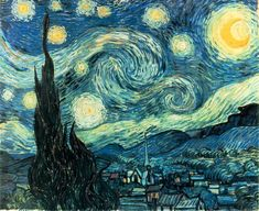 Van Gogh: Starry Night (1889) - Museum of Modern Art, New York