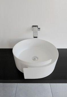 lavabo d'appoggio doppio zero-ceramica flaminia-paola navone ... - Arredo Bagno Savigliano